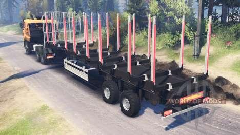 КамАЗ-65226 v4.0 для Spin Tires