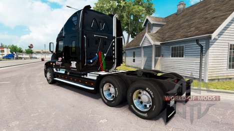 Скин KTS на тягач Freightliner Cascadia для American Truck Simulator