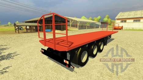 Полуприцеп Agroliner 40 для Farming Simulator 2013