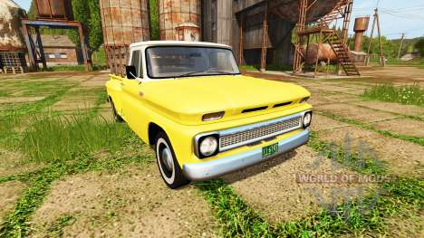 Chevrolet C10 Fleetside 1966 для Farming Simulator 2017