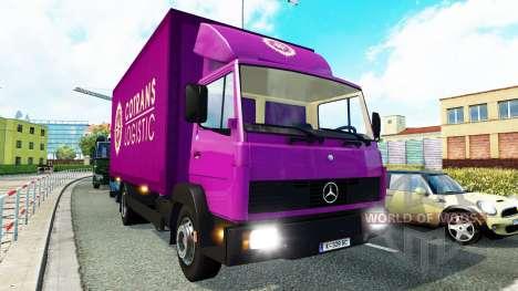 Сборник грузового транспорта для трафика v1.3 для Euro Truck Simulator 2