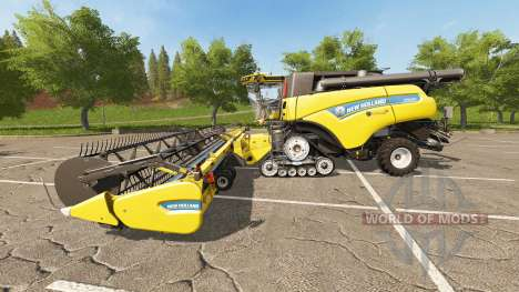 New Holland CR10.90 для Farming Simulator 2017