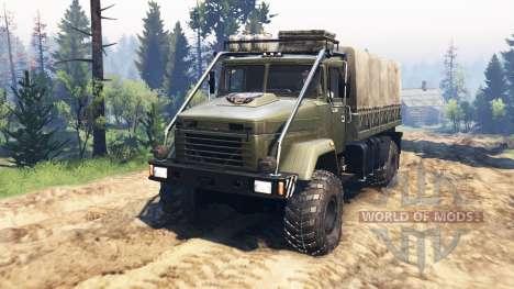 КрАЗ-5131ВЕ v4.0 для Spin Tires