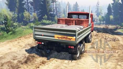 УАЗ-33036 6x6 v2.0 для Spin Tires