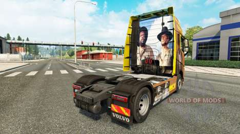 Скин Spencer Hill на тягач Volvo для Euro Truck Simulator 2