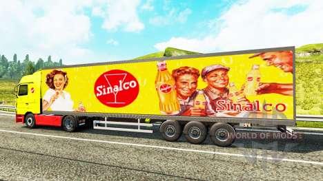 Полуприцеп Narko Sinalco для Euro Truck Simulator 2