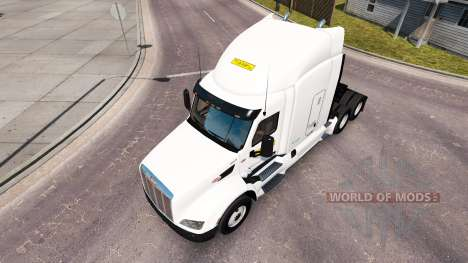 Скин J.B.Hunt на тягачи Peterbilt и Volvo для American Truck Simulator