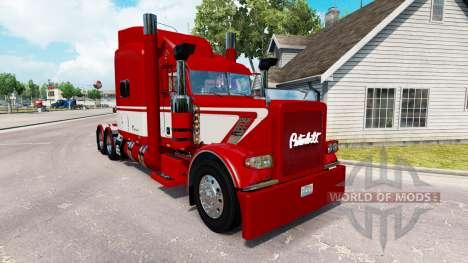 Скин Viper2 на тягач Peterbilt 389 для American Truck Simulator