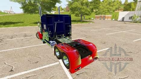 Peterbilt 388 Optimus Prime для Farming Simulator 2017