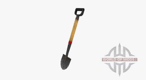 Садовая штыковая лопата для Farming Simulator 2017