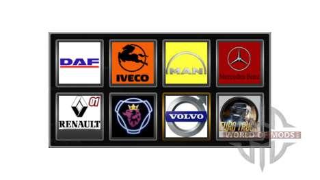 Логотипы реальных компаний для Euro Truck Simulator 2