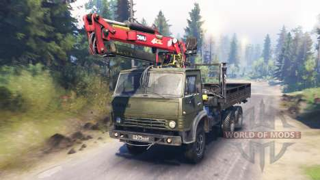 КамАЗ-53212 v6.0 для Spin Tires