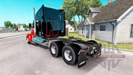 Скин CNTL на тягач Freightliner Coronado для American Truck Simulator
