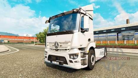 Mercedes-Benz Antos для Euro Truck Simulator 2