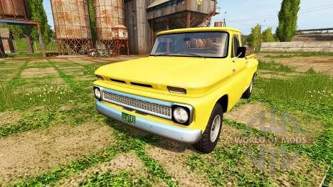 Chevrolet C10 Fleetside 1966 4x4 для Farming Simulator 2017