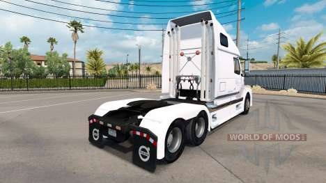 Скин B.A.H. Express на тягач Volvo VNL 670 для American Truck Simulator