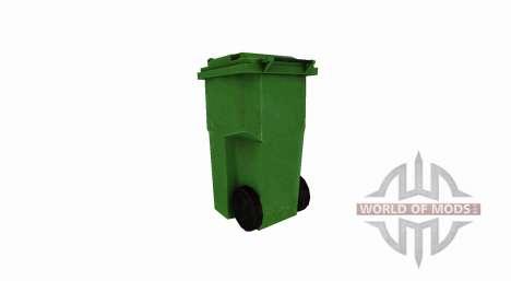 Пластиковый мусорный бак для Farming Simulator 2017