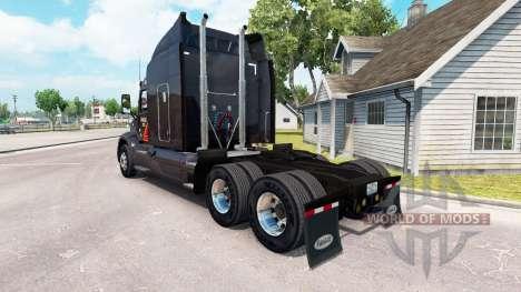 Скин Gallon Oil на тягач Peterbilt для American Truck Simulator