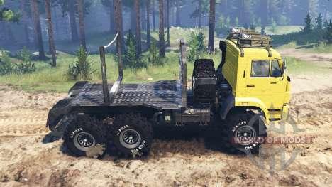КамАЗ-65222 для Spin Tires