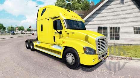 Скин Veriha Trucking на Freightliner Cascadia для American Truck Simulator