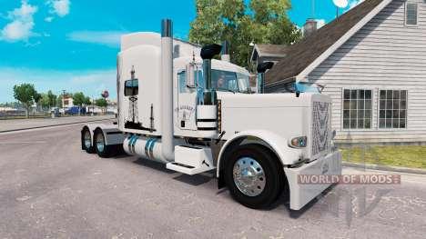 Скин Oil Life на тягач Peterbilt 389 для American Truck Simulator