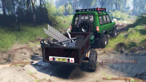Land Rover Discovery v4.0 для Spin Tires