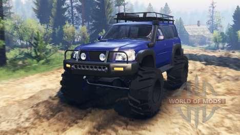Nissan Patrol v2.0 для Spin Tires