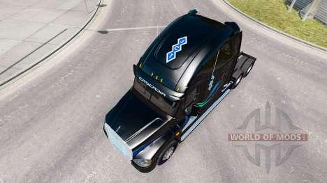 Скин John Christner на тягач Freightlin Cascadia для American Truck Simulator
