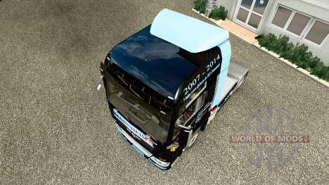 Скин DJ Charty на тягач MAN для Euro Truck Simulator 2