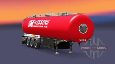 Скин H.Essers на топливный полуприцеп для Euro Truck Simulator 2