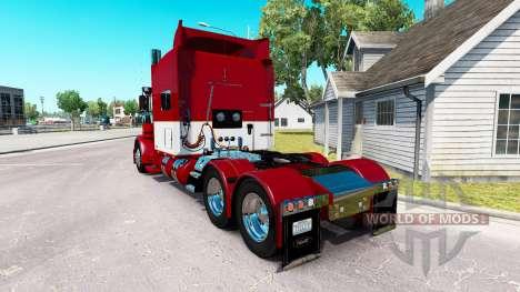 Скин Rethwisch Transport LLC на Peterbilt 389 для American Truck Simulator