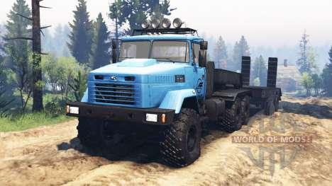 КрАЗ-6322 v2.1 для Spin Tires