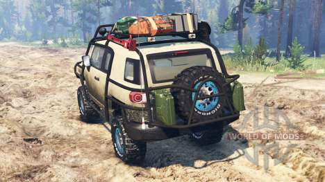 Toyota FJ Cruiser для Spin Tires