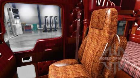 Интерьер для Kenworth W900 для American Truck Simulator
