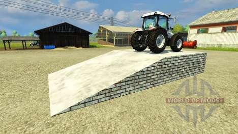 Эстакада для Farming Simulator 2013