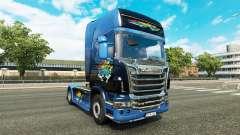 Скин Disaster Transport на тягач Scania