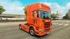 Скин Hazzard v2.0 на тягач Scania