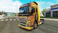 Скин Spencer Hill на тягач Volvo