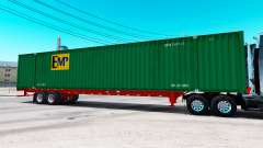 Полуприцеп контейнеровоз EMP