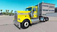 Скин Smooth Yellow на тягач Kenworth W900