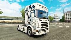 Скин Simply the Best на тягач Scania