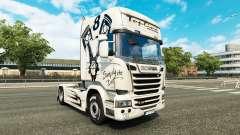 Скин Simply the Best на тягач Scania Streamline