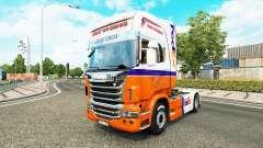 Скин FedEx Express на тягач Scania