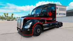 Скин Canadian Express Black на тягач Kenworth
