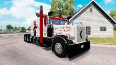 Скин Harley Quin на тягач Peterbilt 389