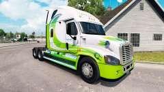 Скин Hybrid на тягач Freightliner Cascadia