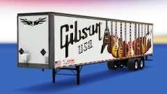 Скин Gibson Guitars на полуприцеп