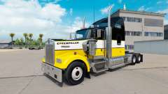 Скин Caterpillar на тягач Kenworth W900