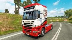 Скин Sarantos transport на тягач Scania