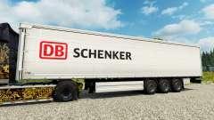 Скин DB Schenker на полуприцепы для Euro Truck Simulator 2